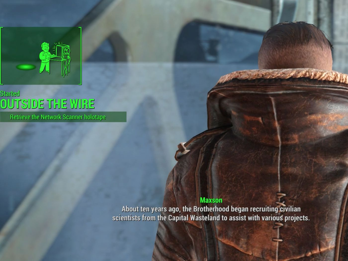 Fallout 4 Outside The Wire Walkthrough Polygon