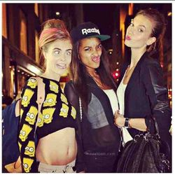 Honorable mention: Jourdan Dunn. And Karlie Kloss? You're doing it wrong.