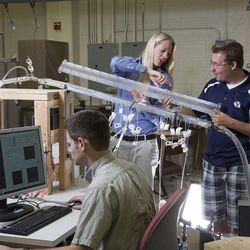 BYU engineering professor Julie Crockett has figured out why the weatherman is sometimes wrong.