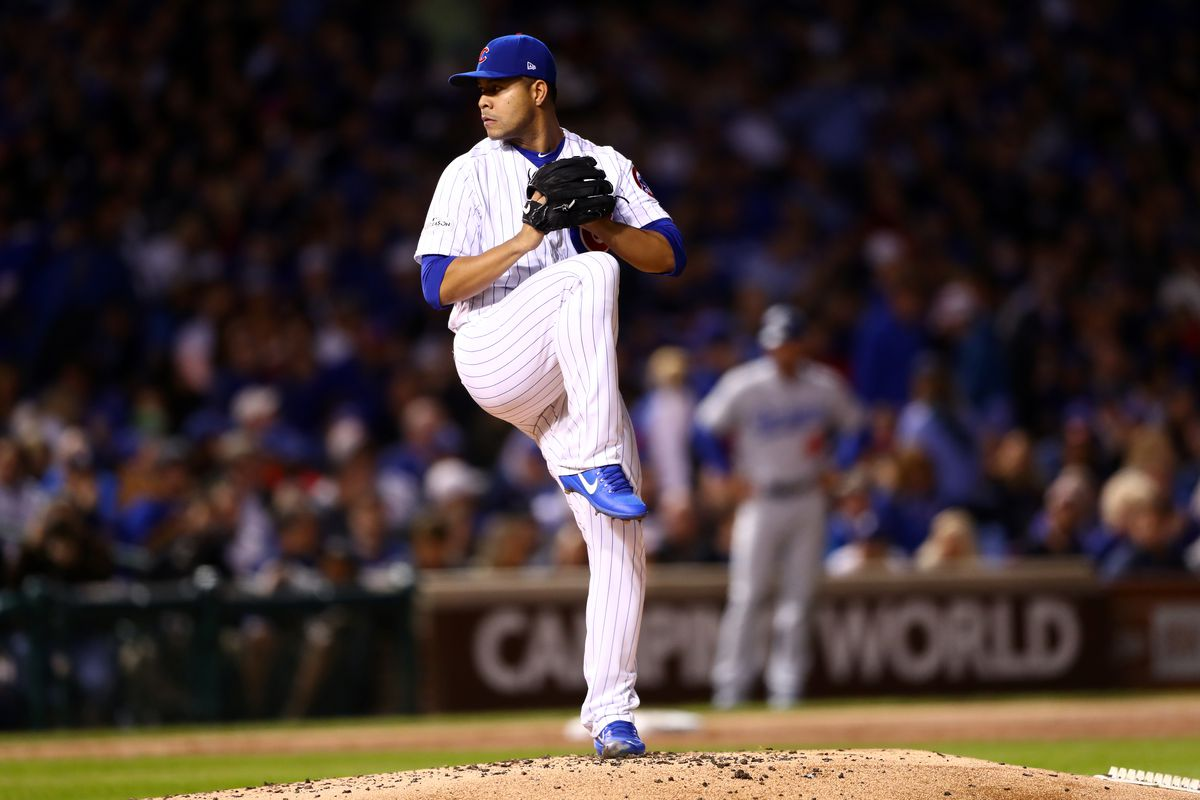 National League Championship Series Game Five: Los Angeles Dodgers v. Chicago Cubs