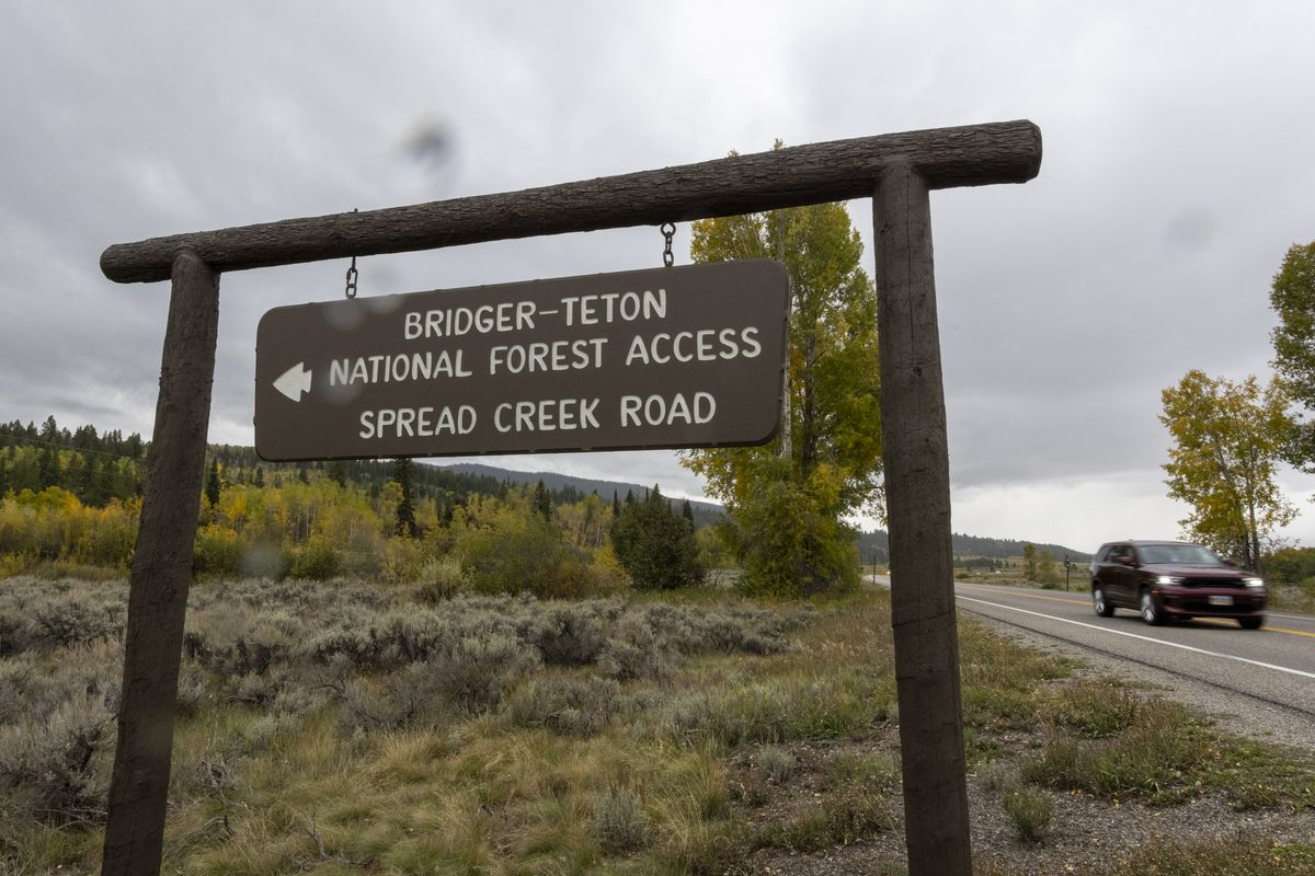Authorities Search National Park In Wyoming For Missing Woman