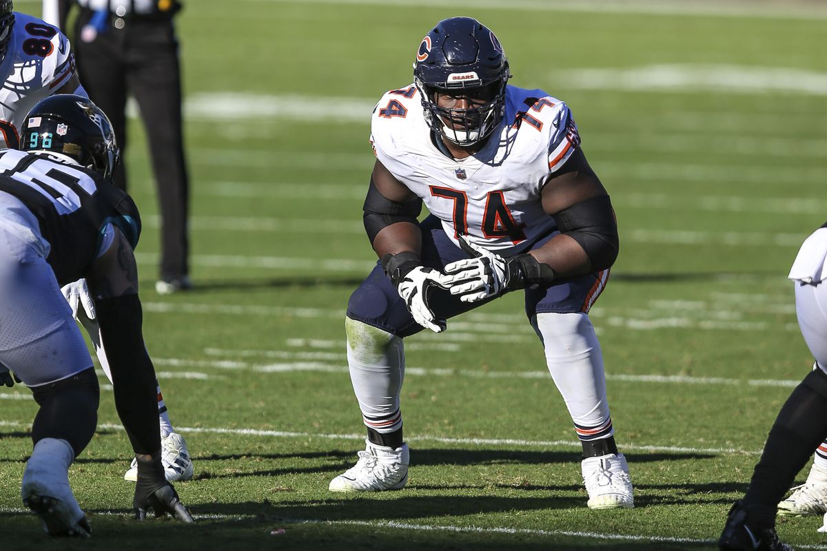 Bears offensive linemen Germain Ifedi started all 16 games last season, including the last six at right tackle.
