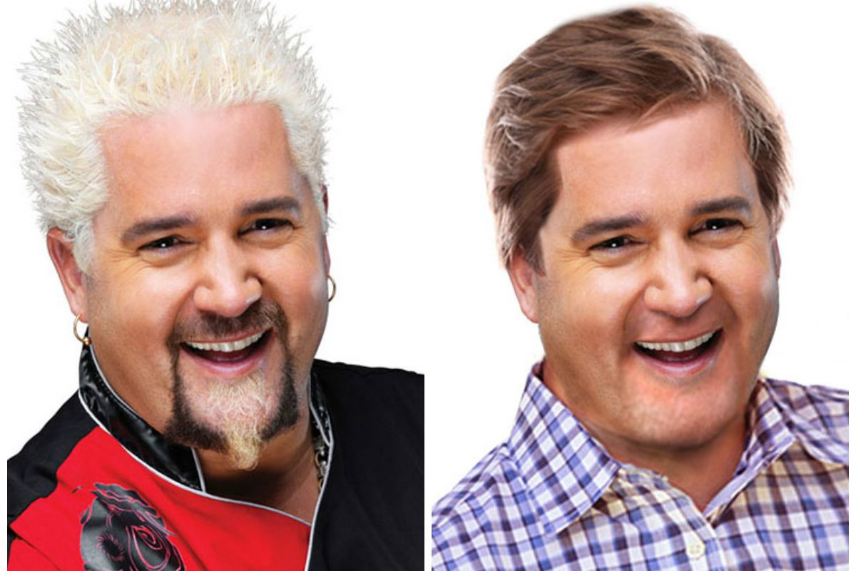 Without His Trademark Blonde Spikes Guy Fieri Is Just A Regular Dad
