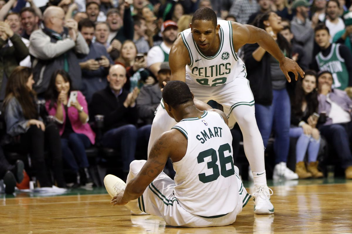 c763ae137b94 Celtics vs. Rockets  Marcus Smart just flopped the Celtics into a ...