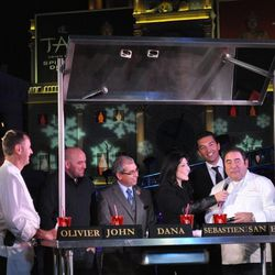 Dana White and Emeril Lagasse were among the judges at the last Culinary Clash.