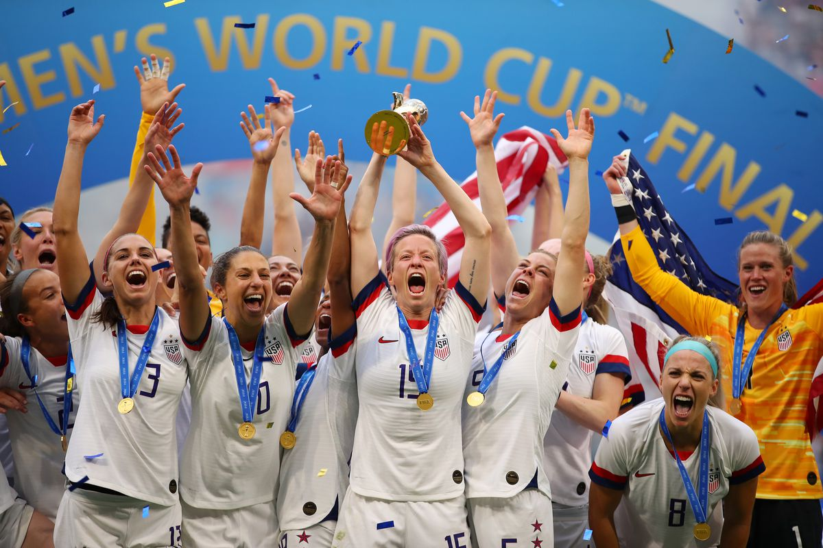 Image result for Women's World Cup Champions Victory Tour