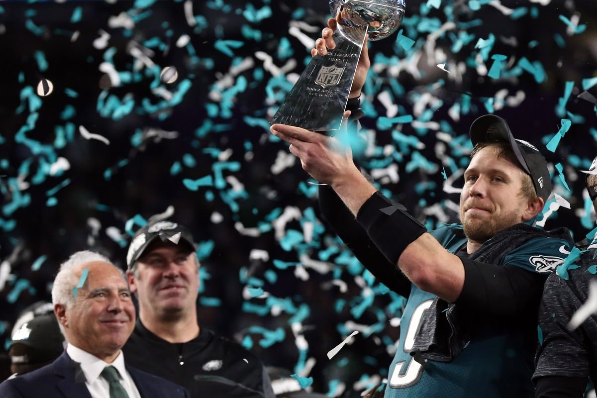 Matthew Emmons-USA TODAY Sports. The Philadelphia Eagles are Super Bowl  champions ... 09df66393