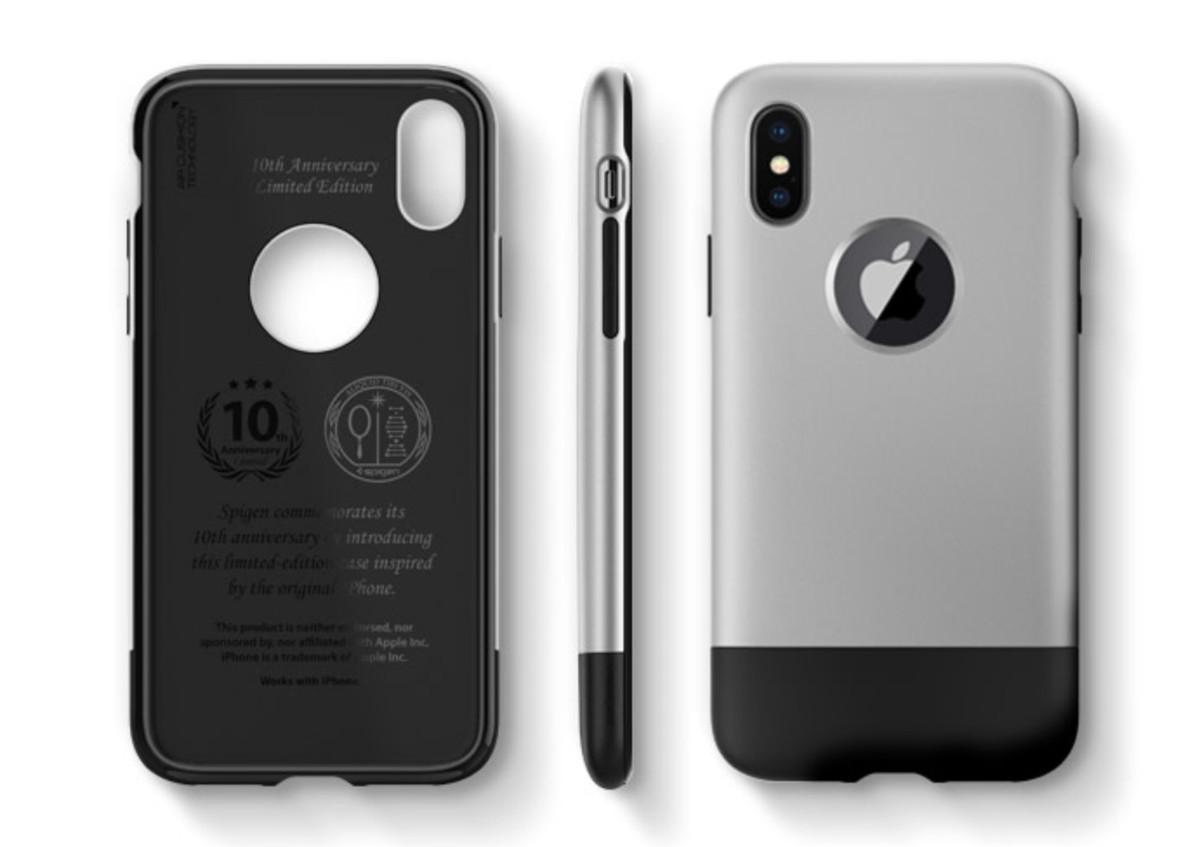 new concept d1bca 496be Spigen's new iPhone X cases prey on your nostalgia for retro Apple ...