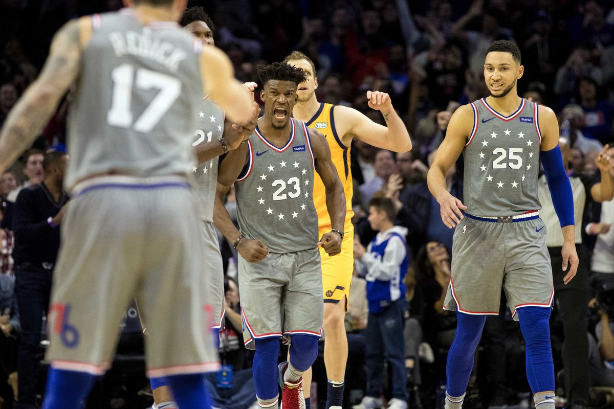 quality design e047b 162e1 Ben Simmons, Jimmy Butler and the chemistry developing ...