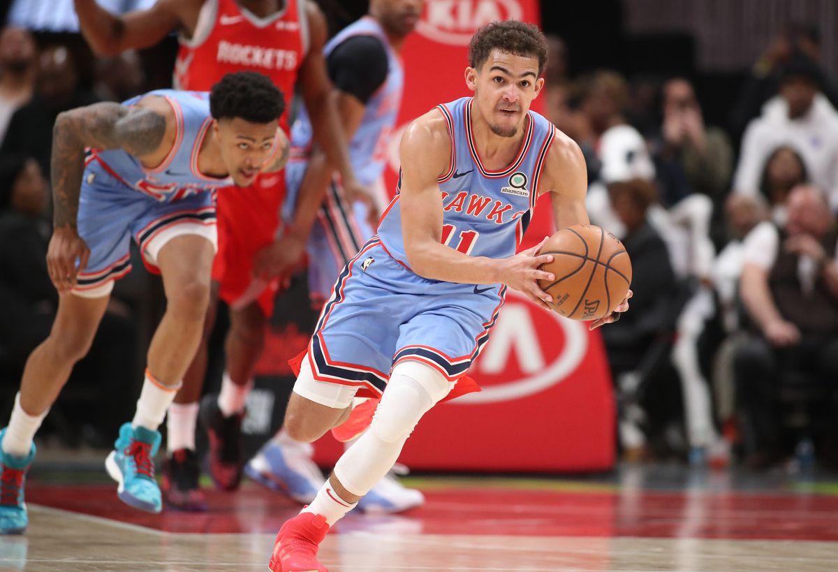 NBA: Houston Rockets at Atlanta Hawks