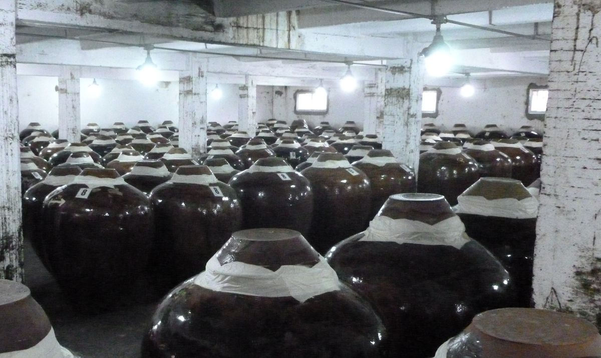 Moutai aging room