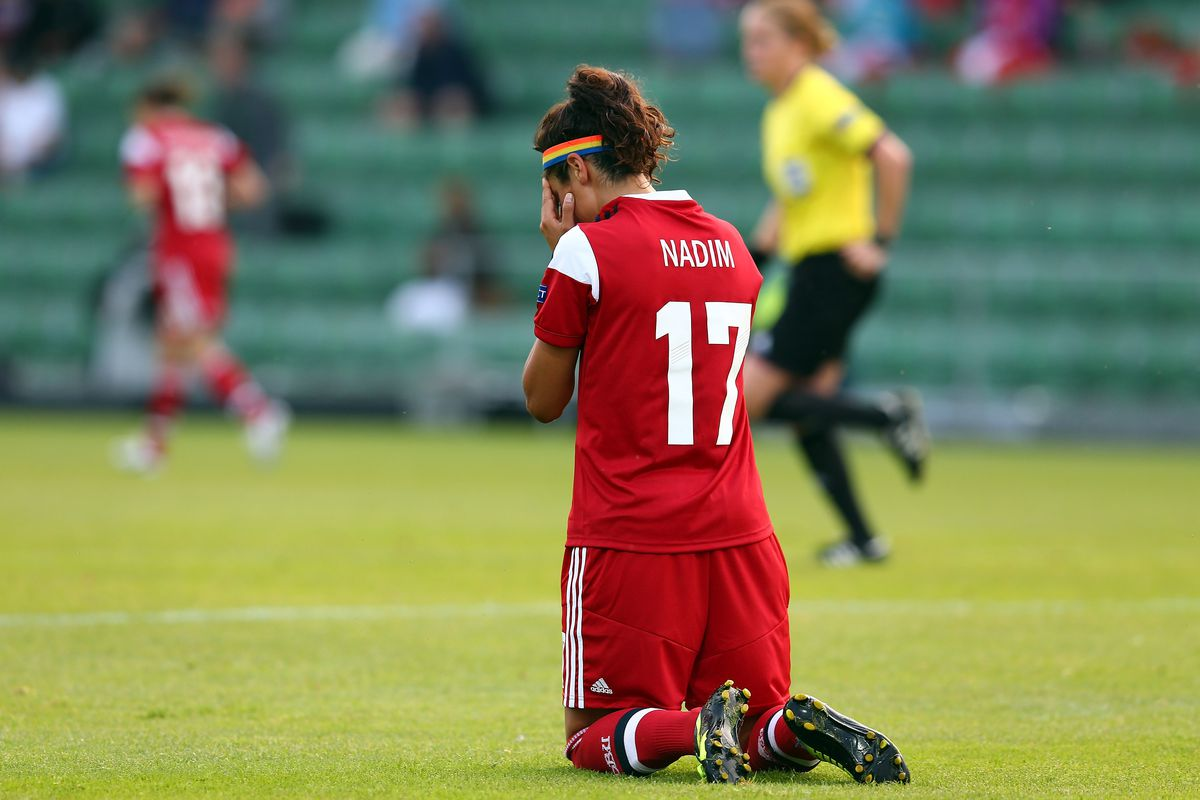 Nadia Nadim wasn't the only Portland Thorns FC player to struggle in Saturday's 3-0 loss to the Houston Dash.