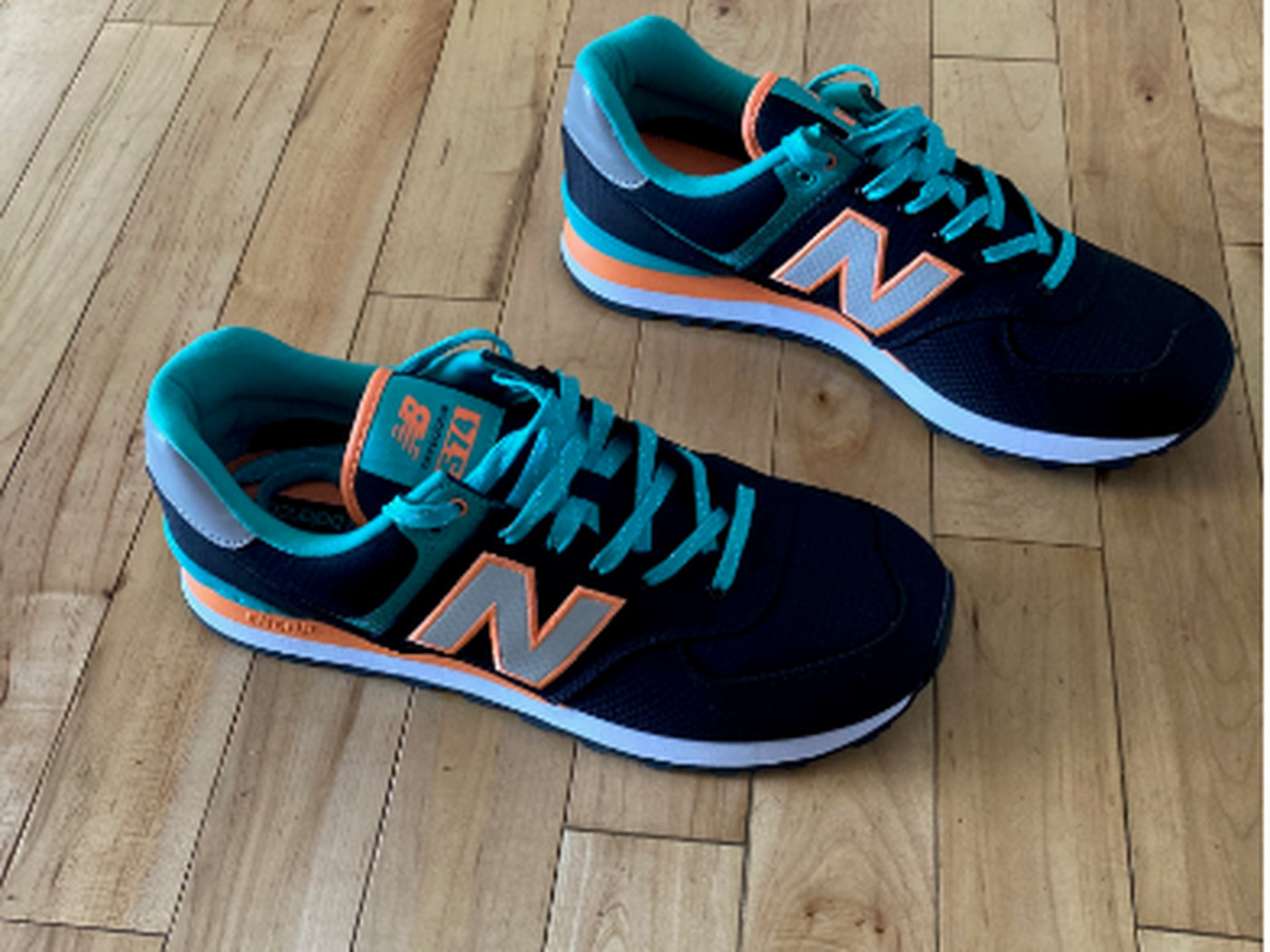 My New Balance Dolphins Shoes are the Tops in Miami Dolphins Shoes ...