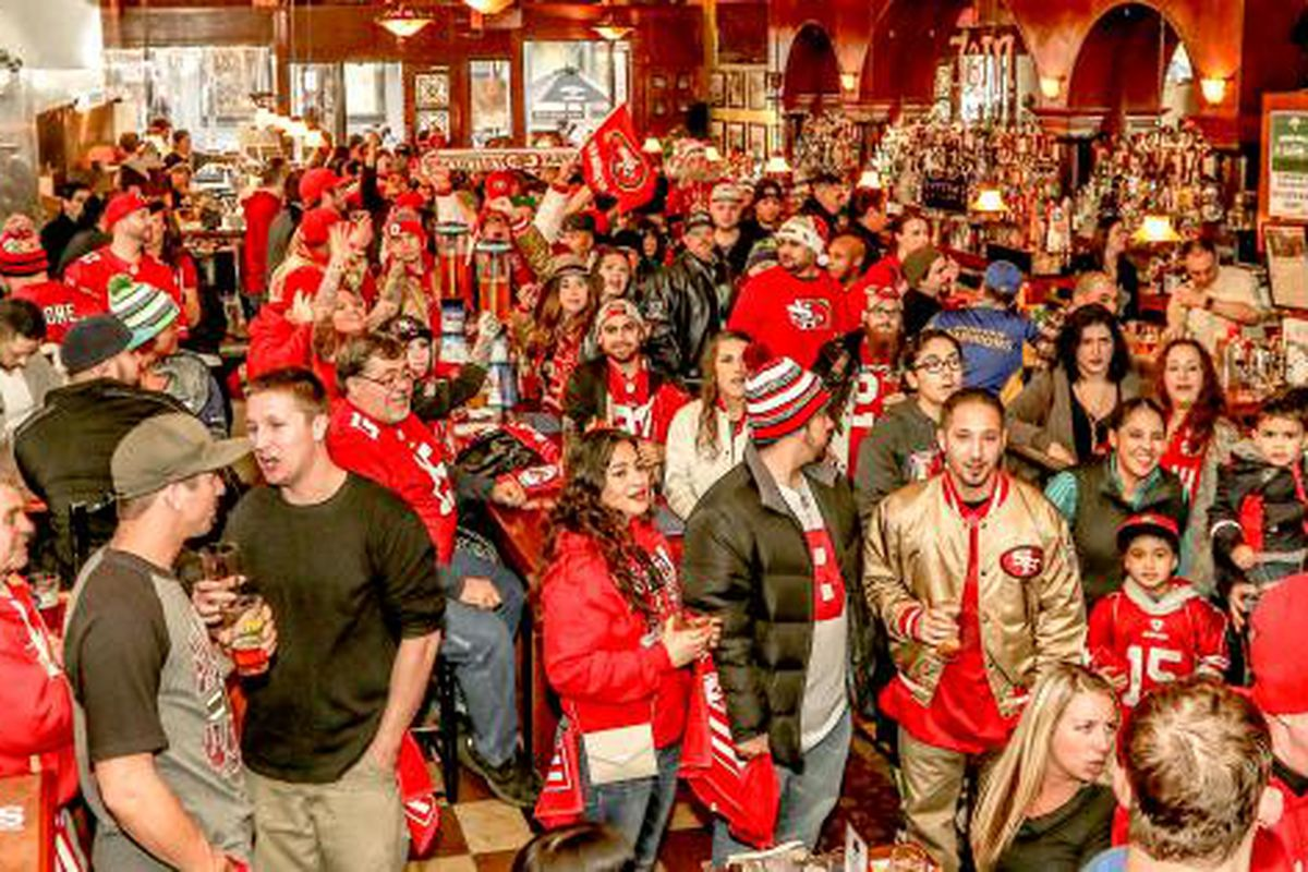 a496e48da 49ers fans make strong showing in Seattle prior to Seahawks game ...