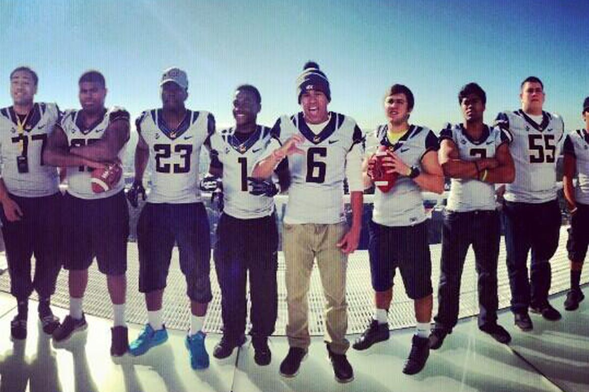 Cal football recruiting 2014