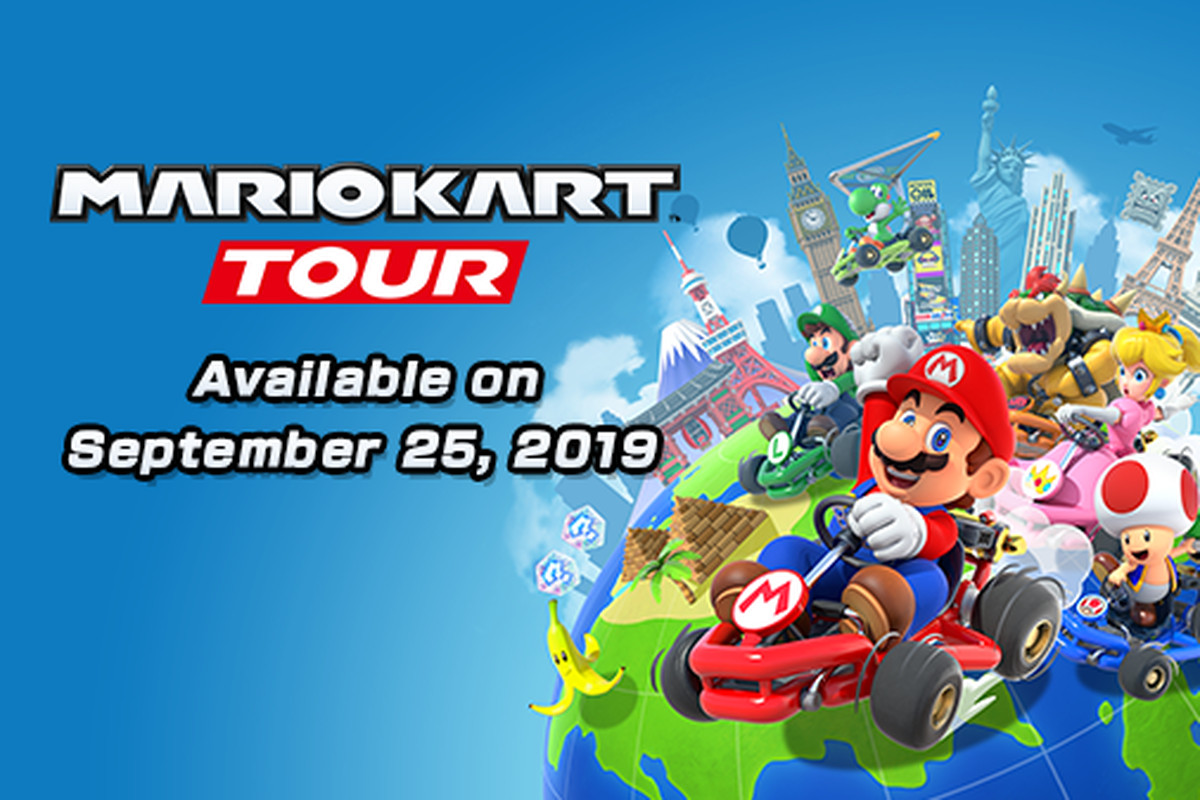 Mario Kart Tour Is Coming Out On September 25th The Verge