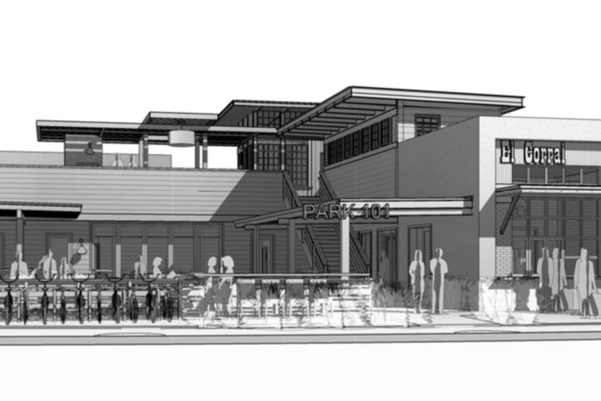 Rendering courtesy of Brian Church Architecture.