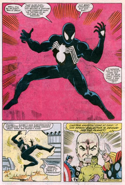 Early drawings of Venom
