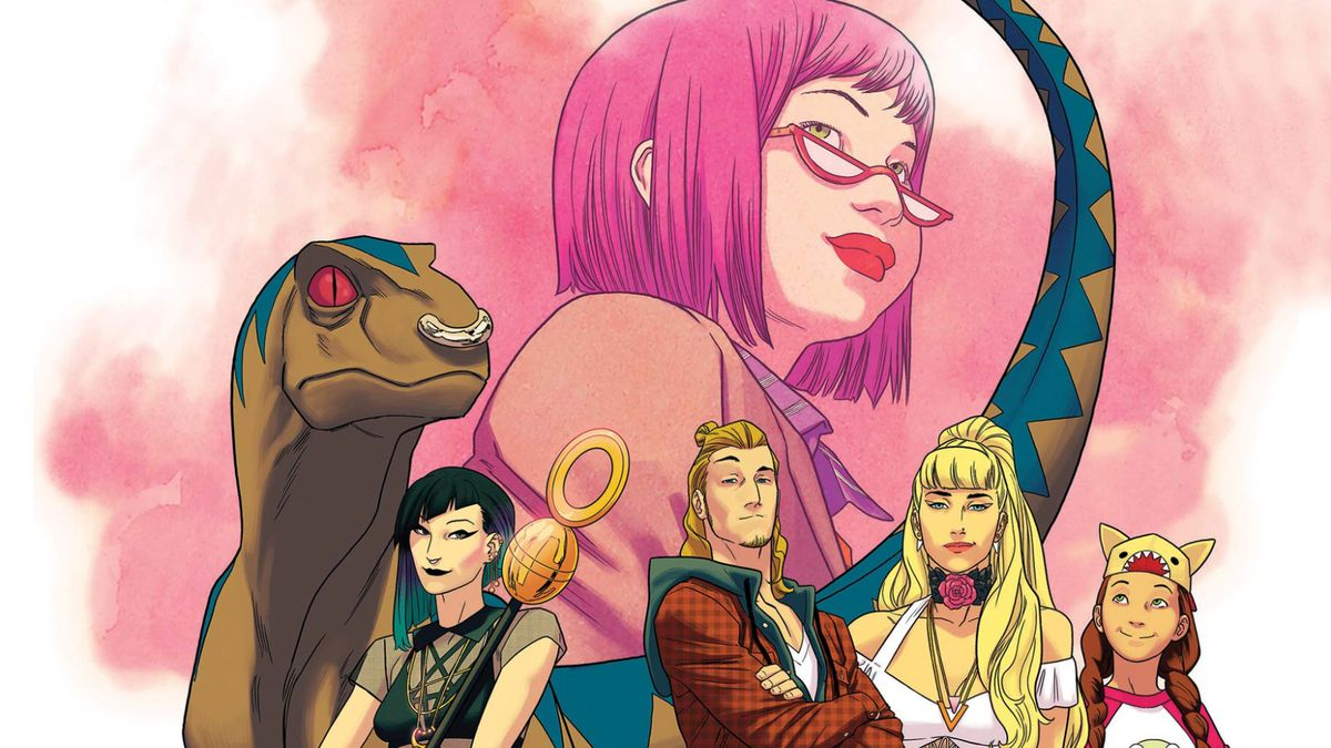 The cover of Runaways #1, Marvel Comics (2017).