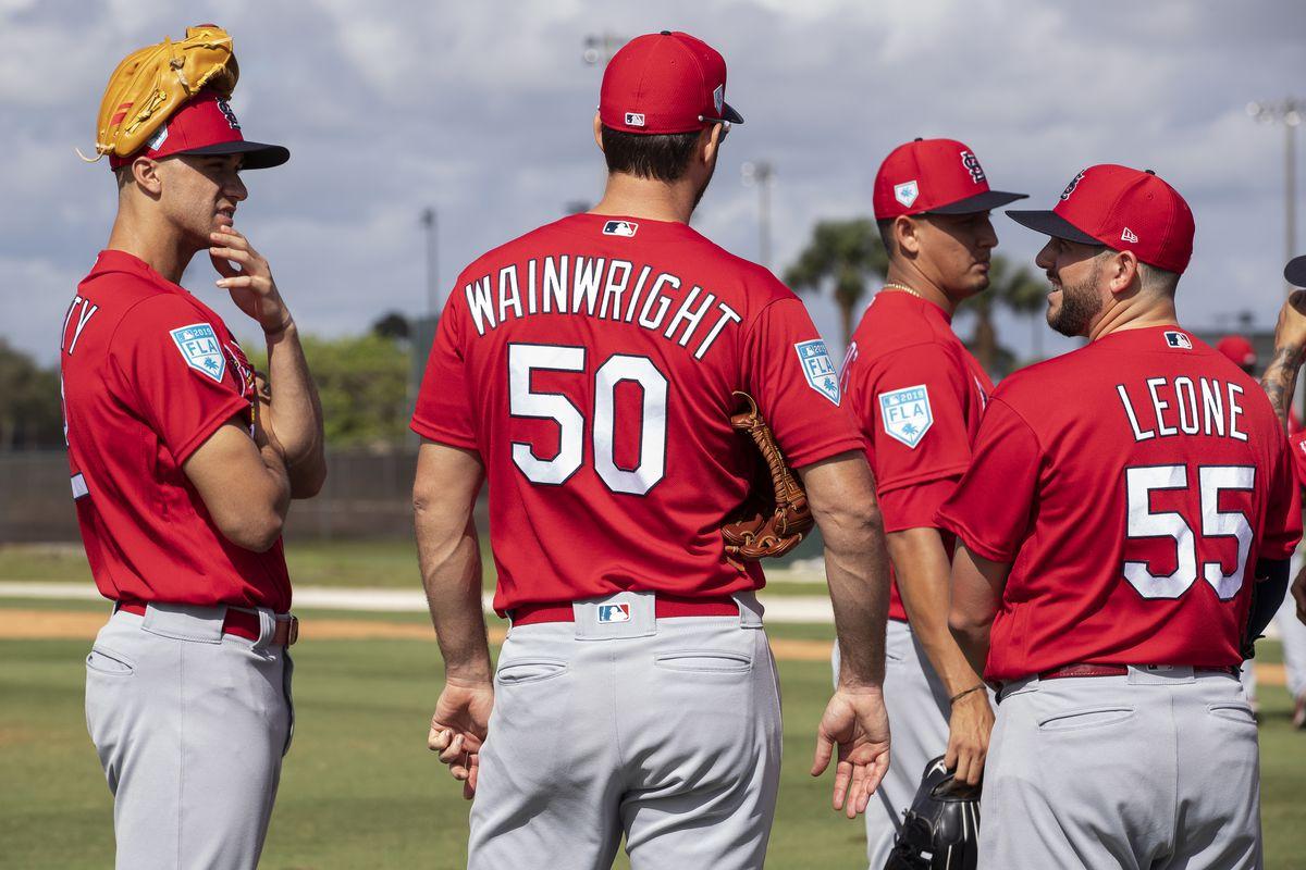 2019 St. Louis Cardinals spring training workout