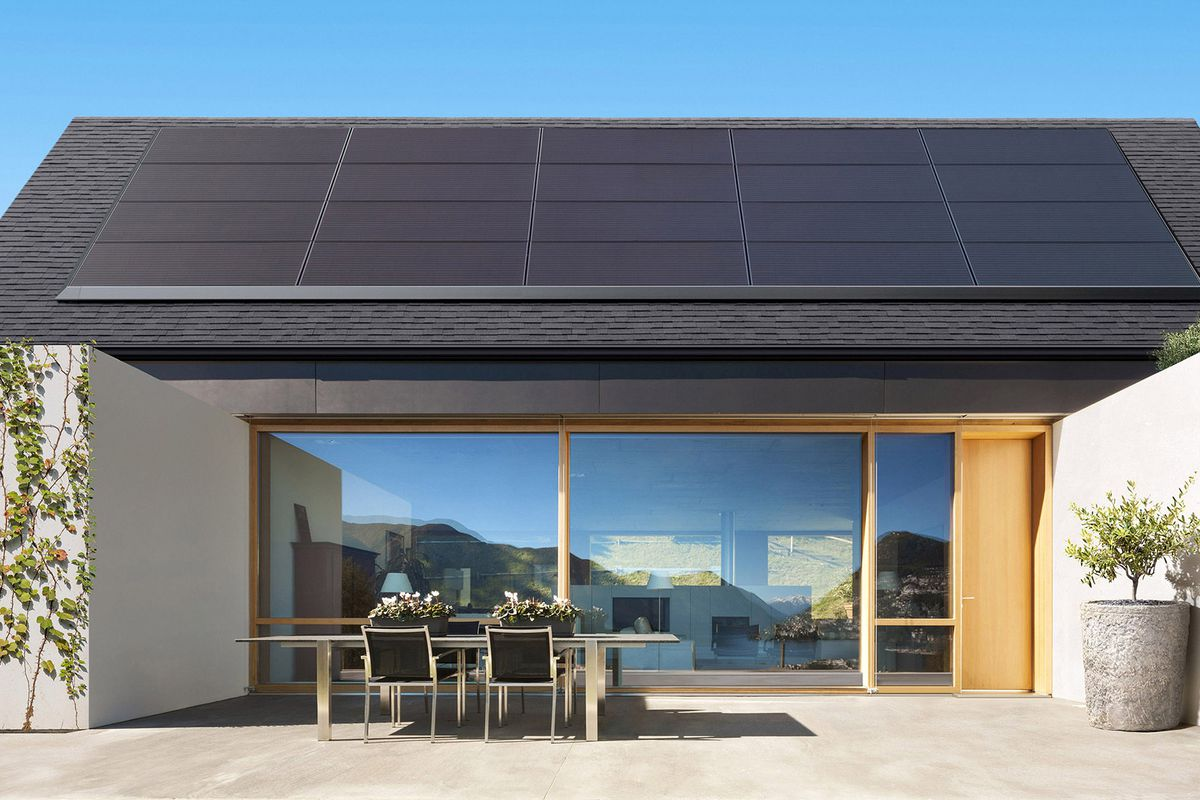 tesla solar panels batteries coming to home depot curbed. Black Bedroom Furniture Sets. Home Design Ideas