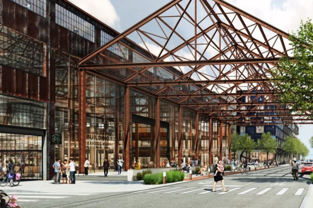 Pier 70 San Francisco Map.Planning Commission Approves Up To 2 150 Homes At Pier 70 Curbed Sf