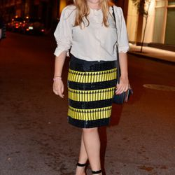 Grace on Walker and Church Street in a vintage top, a Holly Fulton skirt, and Sonia Rykiel shoes.