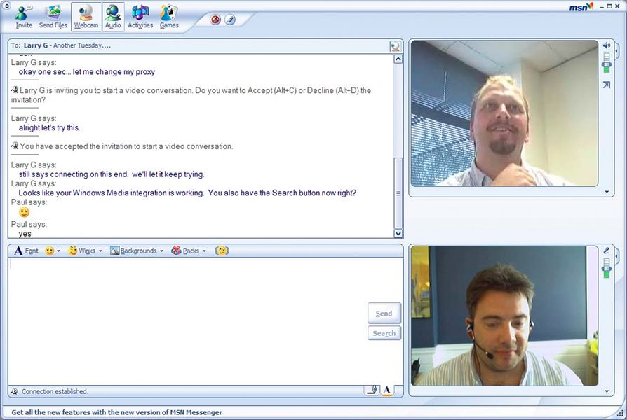Webcam msn messenge - 2 2