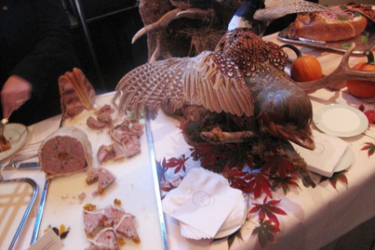 A Pheasant, Stuffed Two Ways