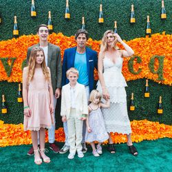 The Veuve Clicquot Polo Classic took place on Saturday, June 4th in Jersey City's Liberty State Park, with fabulous views of Lower Manhattan and the Statue of Liberty. As usual, it was a stylish affair for both notable guests and the general public.