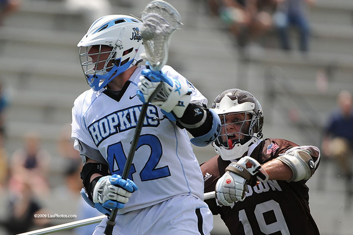 Can Wharton and the offense carry Hopkins to victory on Saturday?