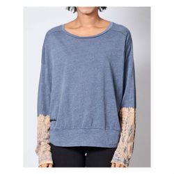 """<a href=""""http://shopbird.com/product.php?productid=27394&cat=703&manufacturerid=&page=1"""">Raquel Allegra</a> long sleeve tee, $59 (was $200)"""