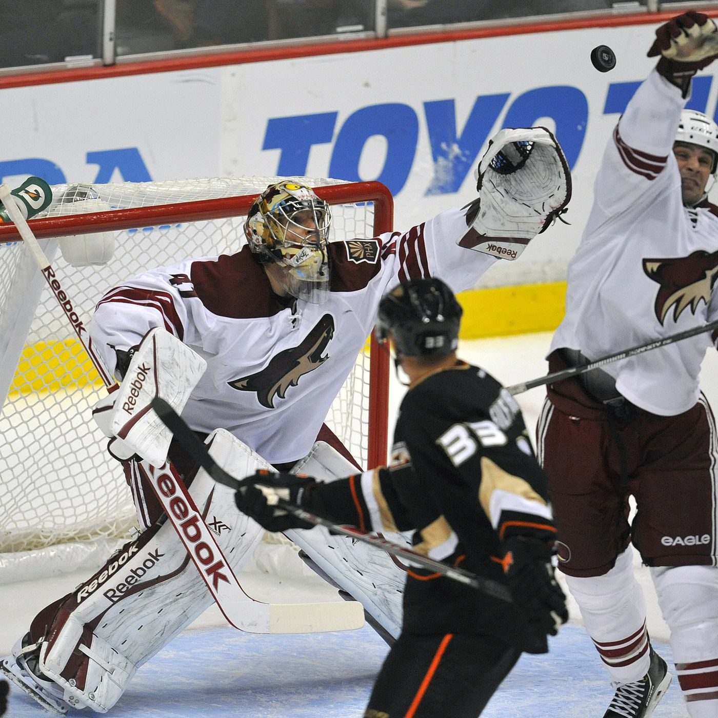 Phoenix Coyotes Anaheim Ducks Preview Pond Hockey Five For Howling