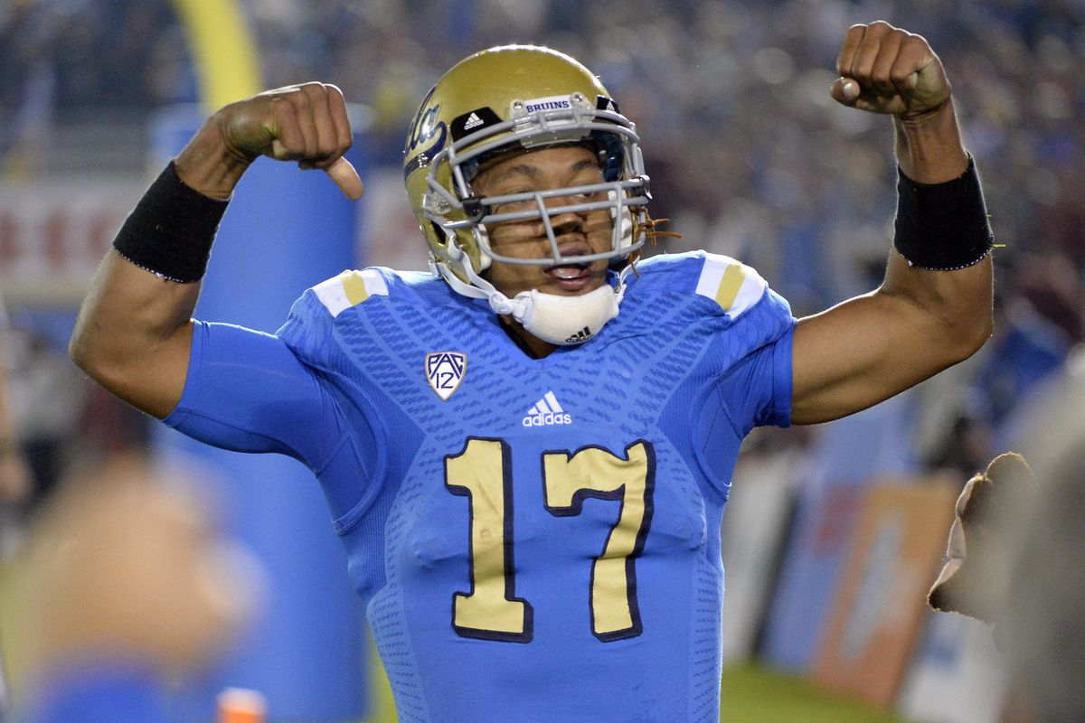 UCLA's Brett Hundley will be looking to expand dominance of LA to the Pac-12 South this weekend, and then move on to the rest of the conference, and then the country.