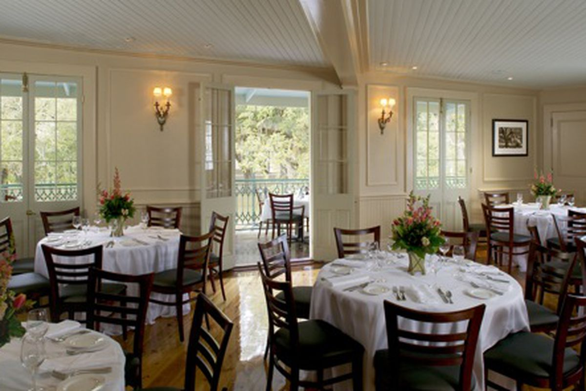 The Oak Room at Ralph's on the Park.