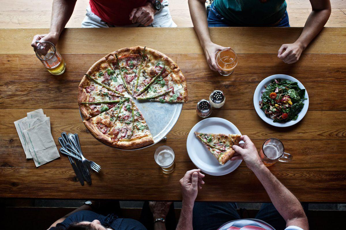 Pizza at ABGB