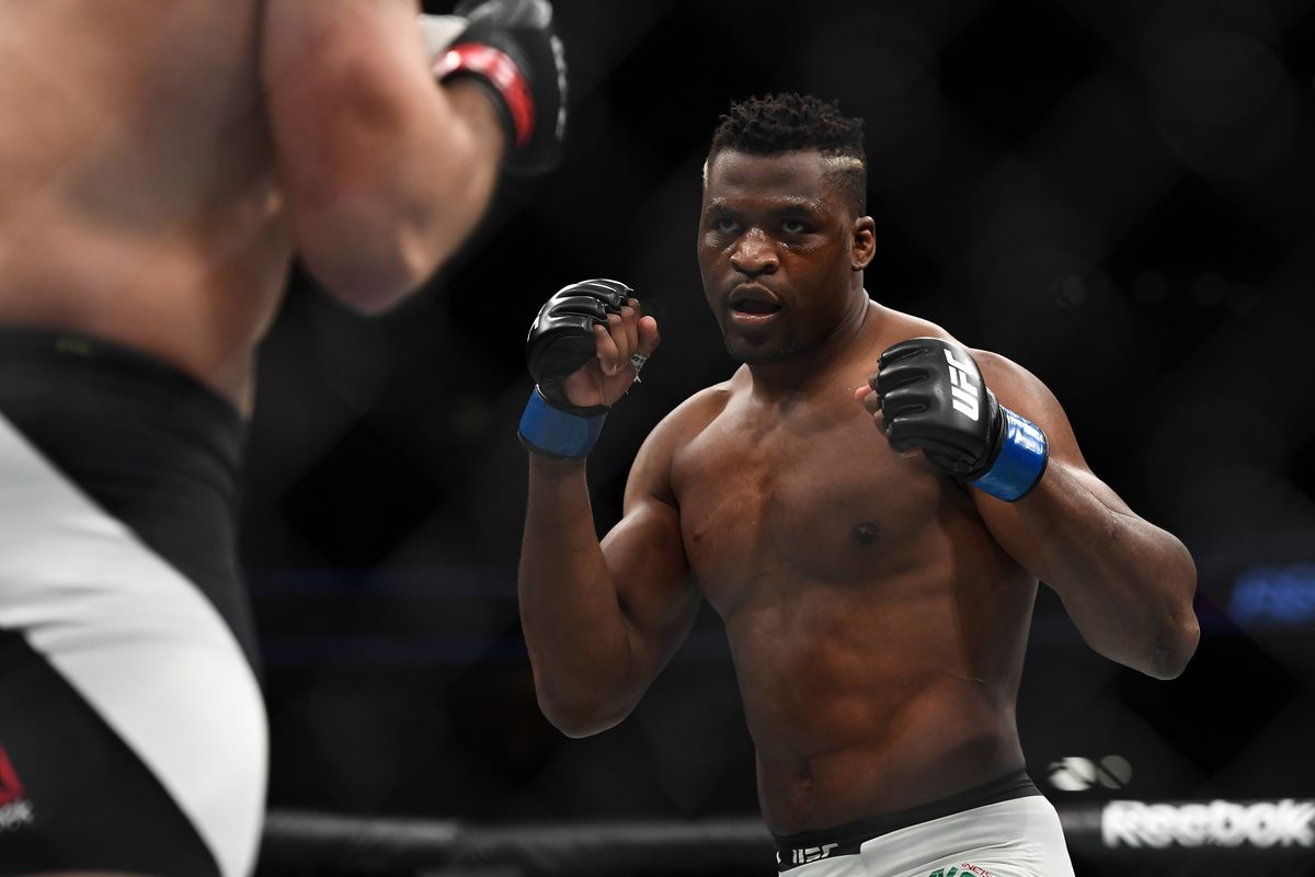 Video: Uriah Hall spars with Francis Ngannou in 'one of the scariest