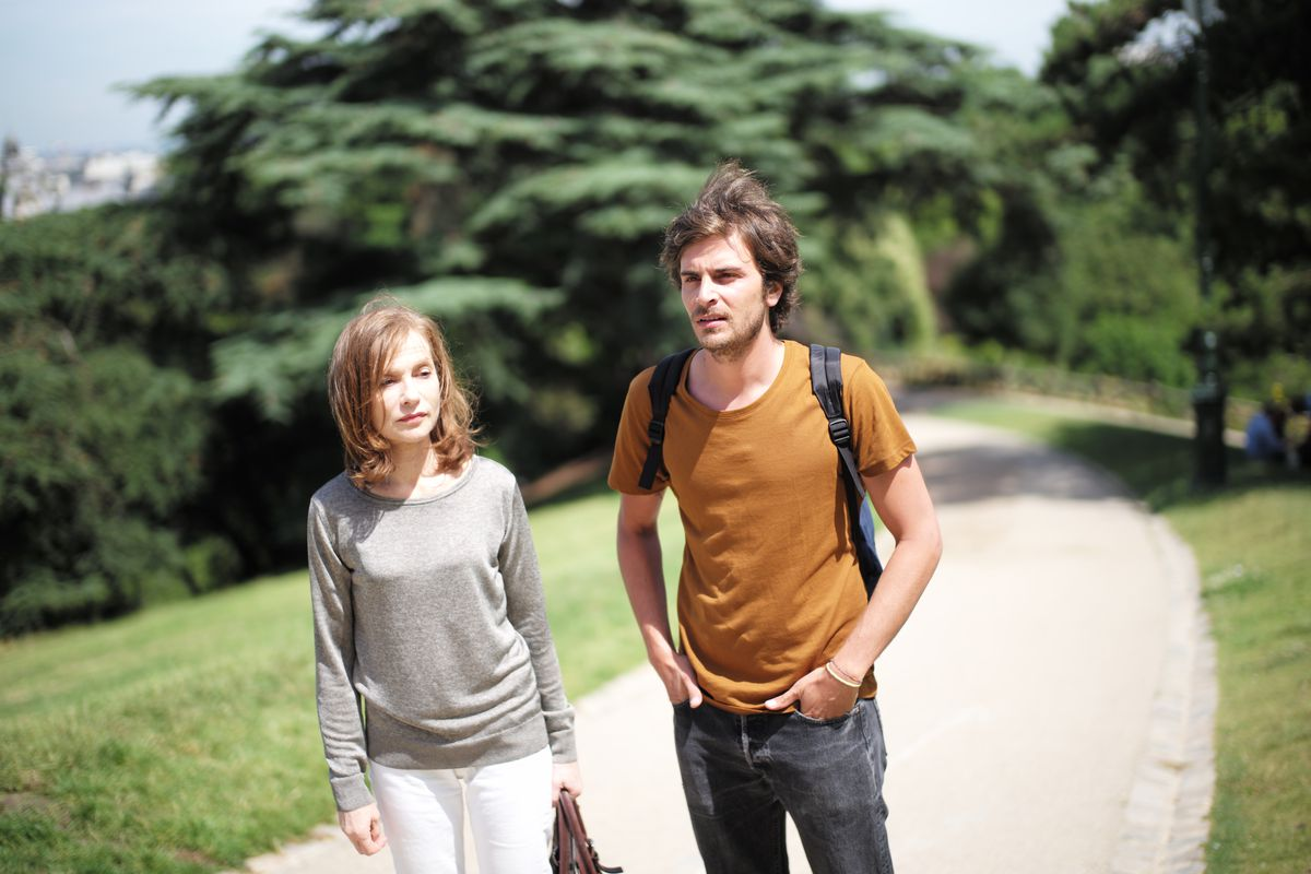 Isabelle Huppert and Roman Kolinka in Things to Come
