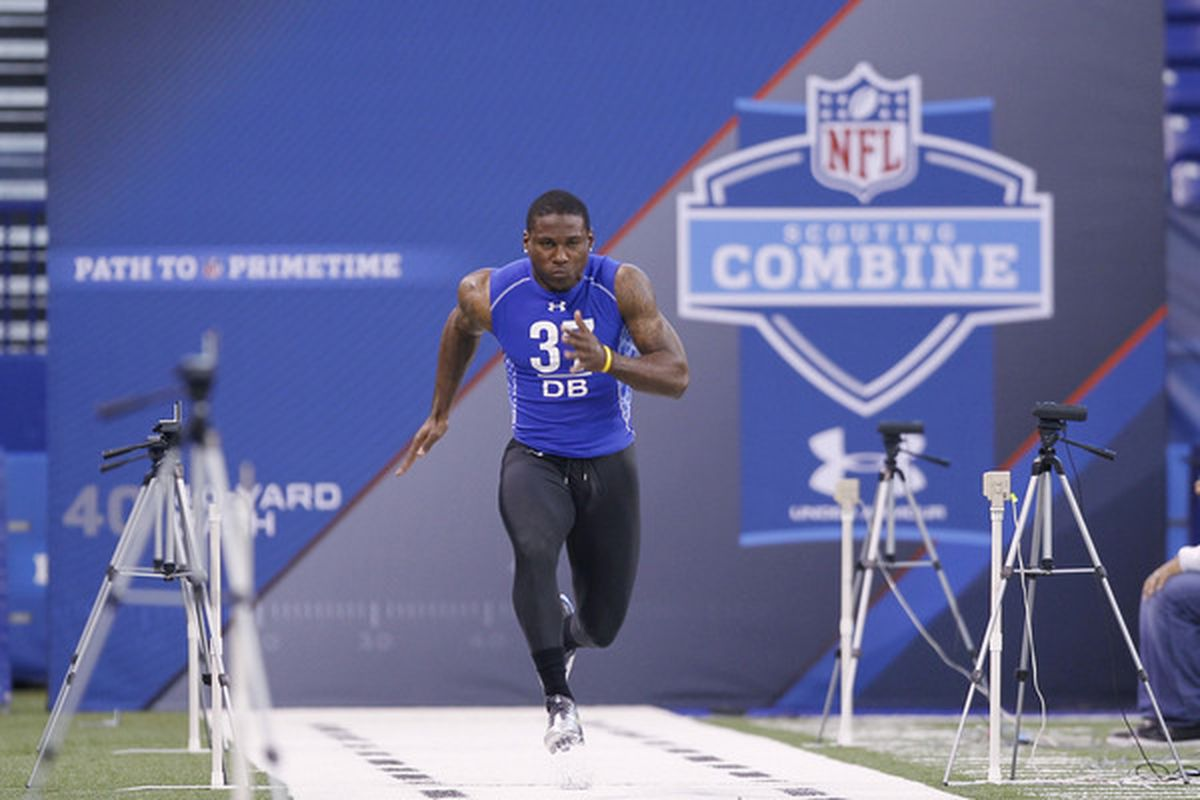 The Patrick Peterson freight train churns towards No. 1 overall. (Photo by Joe Robbins/Getty Images)