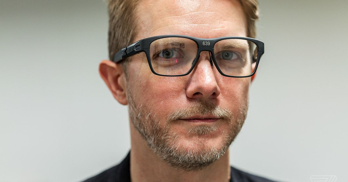 a6ce1edd034b Exclusive  Intel s new Vaunt smart glasses actually look good - The Verge