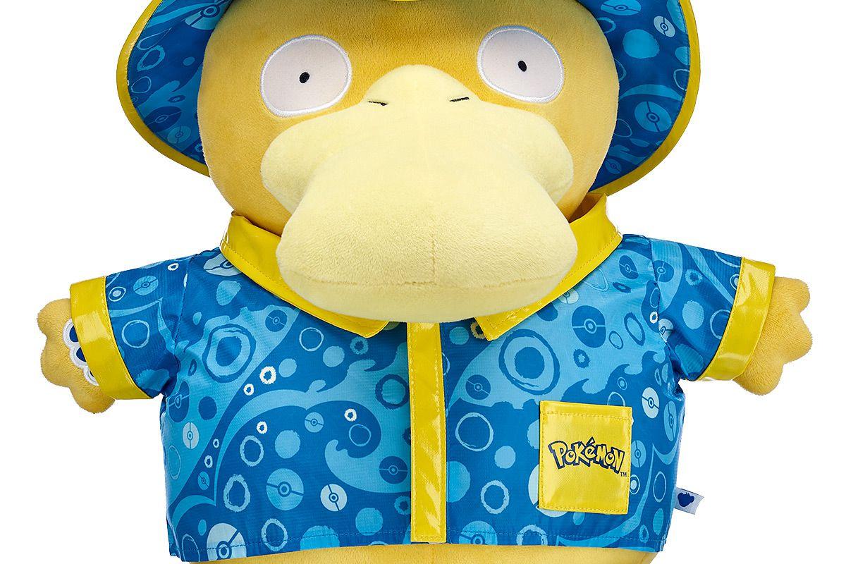 Build A Bear S Pokémon Plushie Lineup Now Includes Psyduck Snubbull