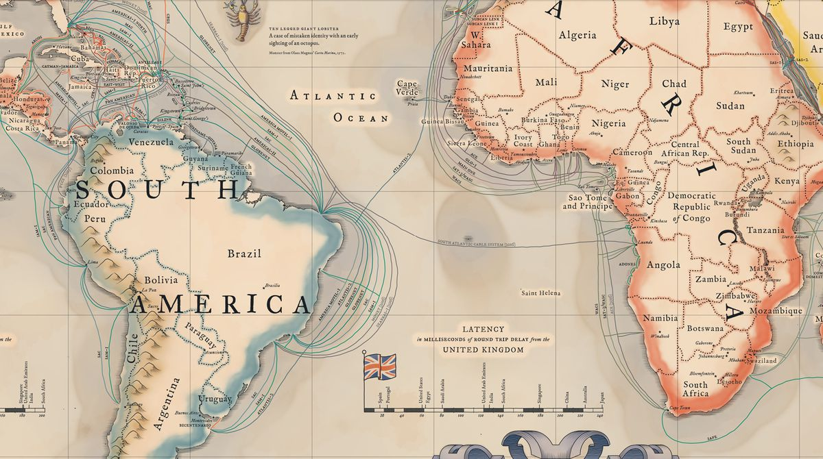 Connections in the South Atlantic
