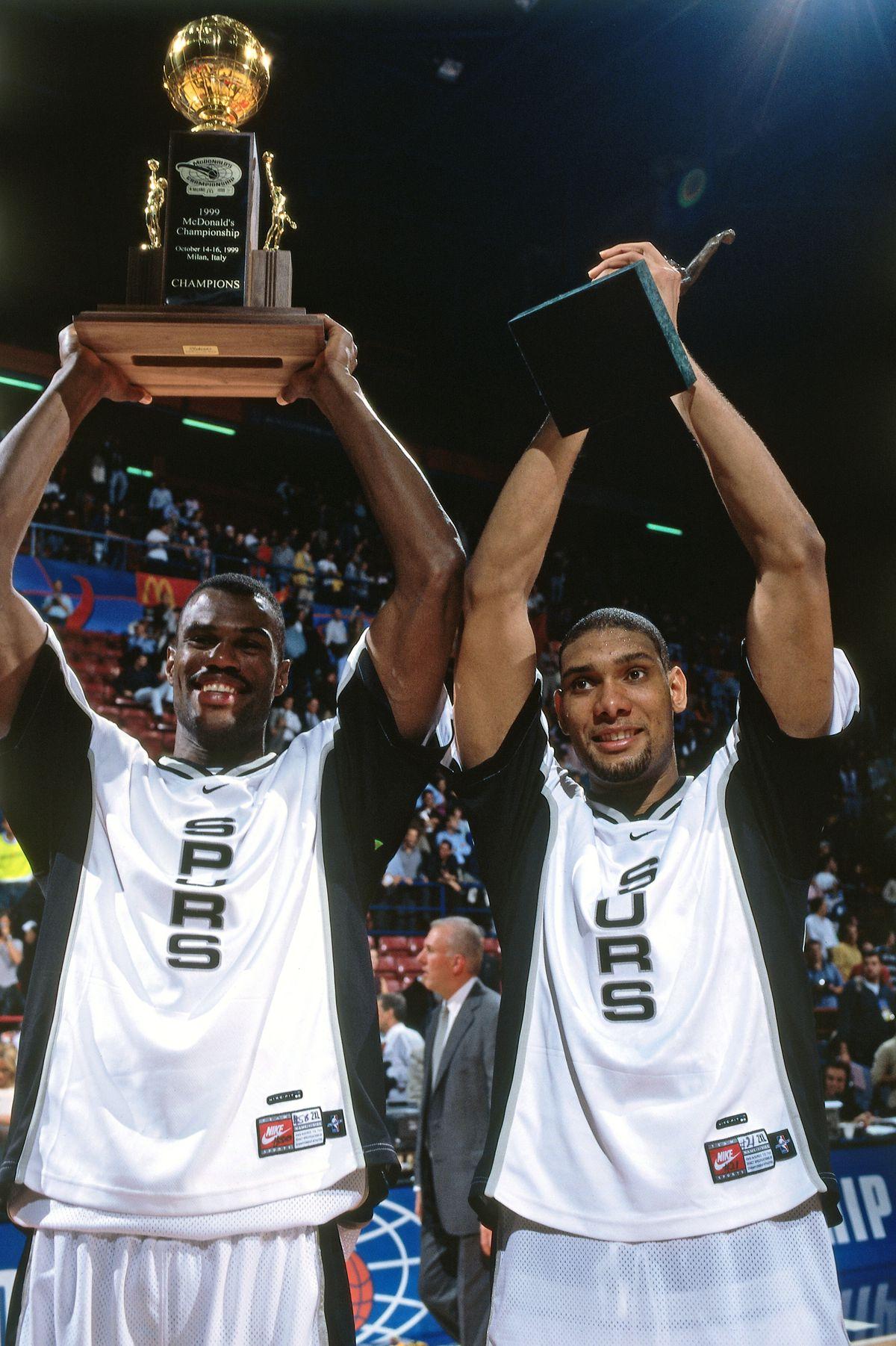 1999 McDonalds Open: Vasco Da Gama v San Antonio Spurs