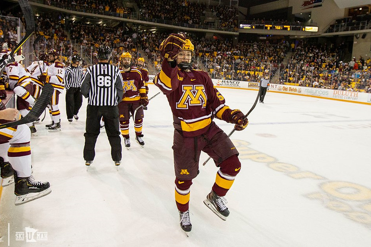 official photos 419cd 72c73 Minnesota Hockey: Gophers Look to Regroup Against MSU ...