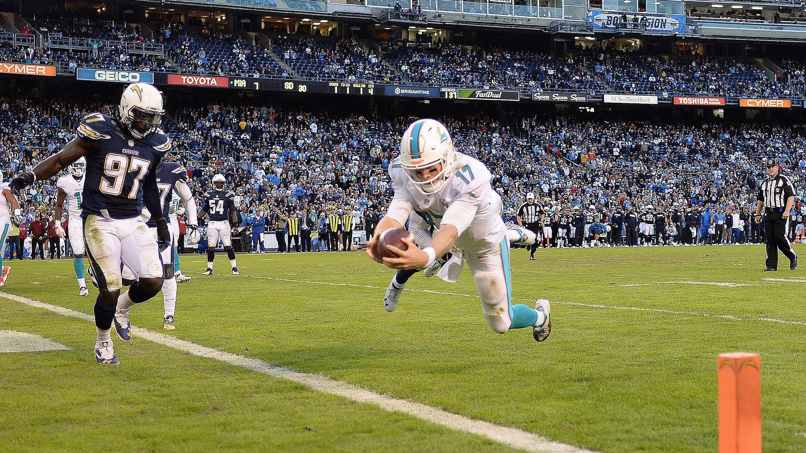 Dolphins At Chargers Game Time Tv Schedule Online Stream