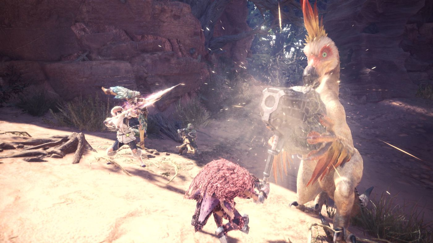 Monster Hunter World is the game that finally got me into the series