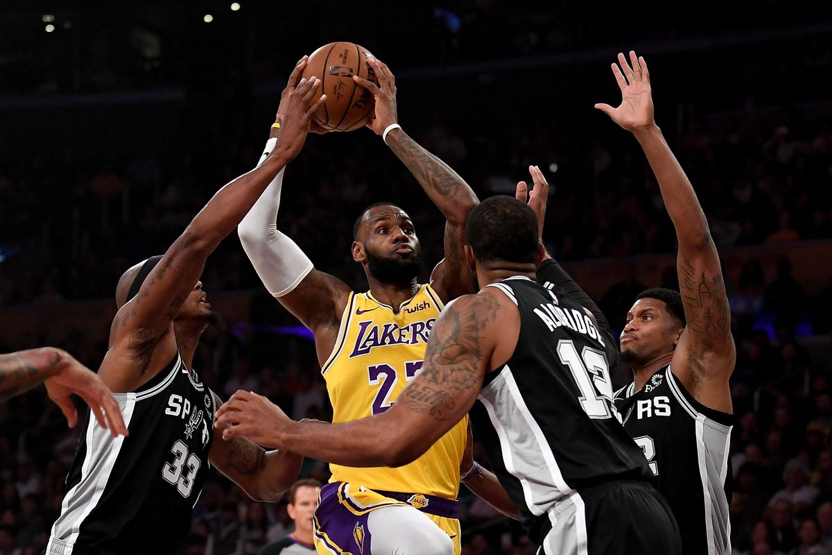 Image result for spurs vs the laker