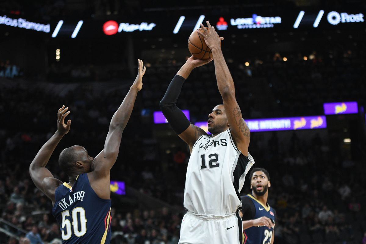 Spurs' LaMarcus Aldridge day-to-day with ankle; Pau Gasol dealing with bruised knee