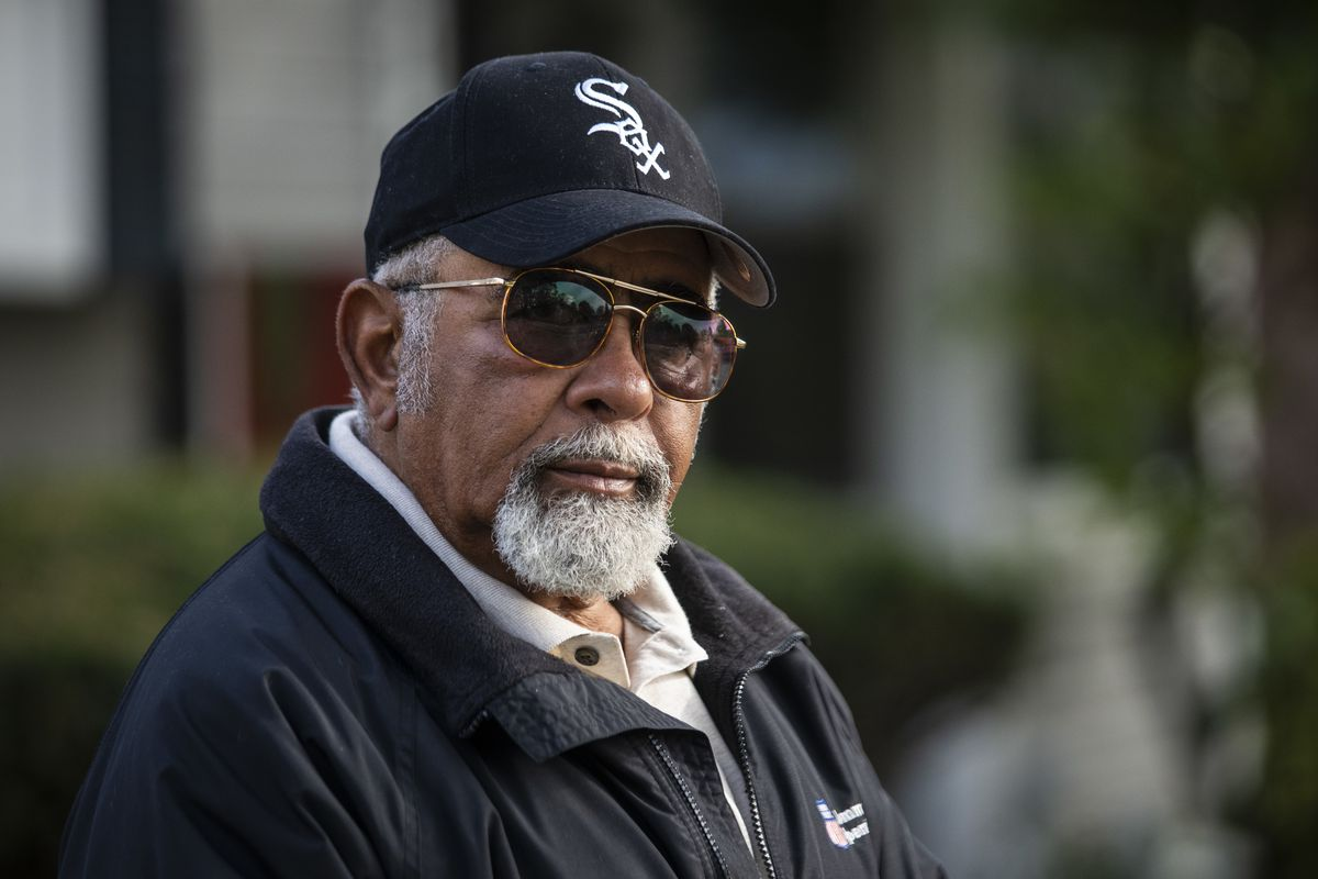 Retired train engineer Ford Dotson Jr., who was operating Metra train No. 624 when it crashed with a school bus on Oct. 25, 1995, in Fox River Grove.