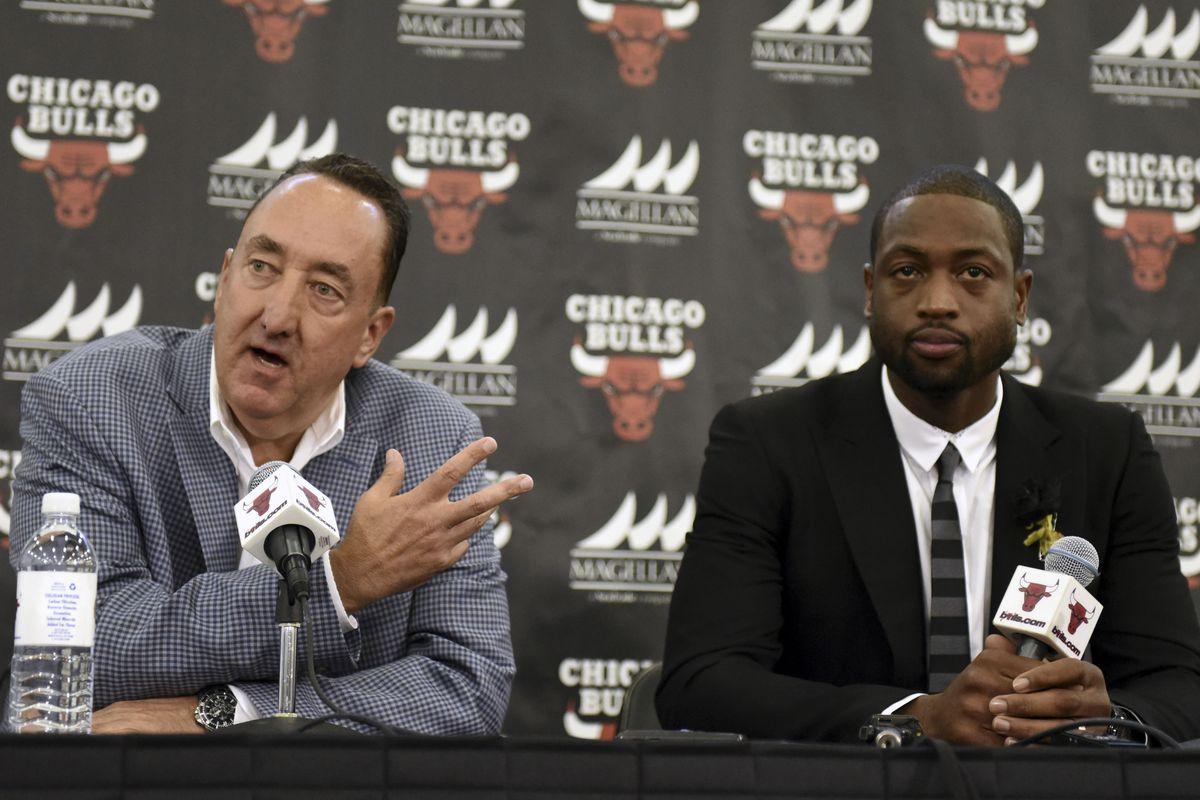 NBA: Chicago Bulls-Dwyane Wade Press Conference